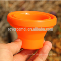 Fire Maple FMP-319 Orange Outdoor Camping Travel Portable folding water cup Folding Silicon Mug