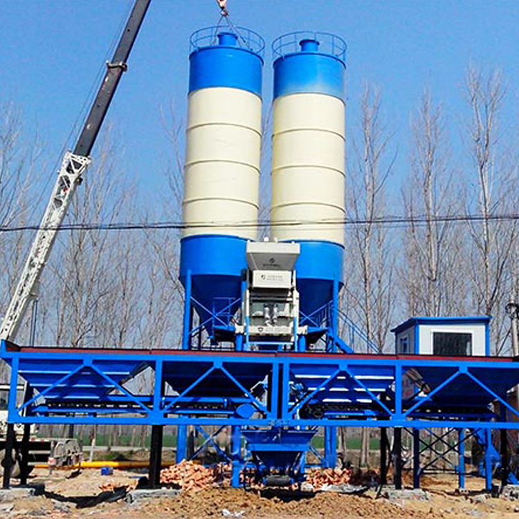 Hot-sell-HZS50-environmental-friendly-Concrete-Mixing