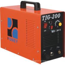 Máquina de soldadura del inversor de la CC de TIG (TIG-160/180/200)