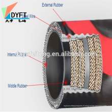 Pompe à béton pièces de rechange tuyau flexible en caoutchouc pour pompe à béton putzmeister