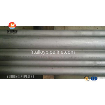 En alliage Inconel 690 Nickel alliage tubes ASTM B 167 ASME SB 167