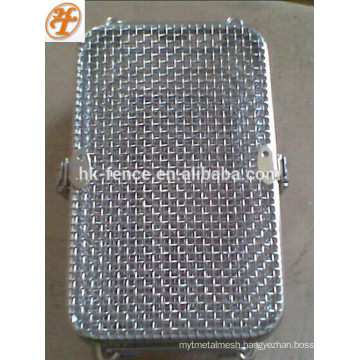 stainless steel high temperature cleaning mesh basket