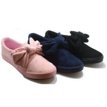 Bowknot Стиль Высокое Качество Вулканизации Студент Инъекции Обувь