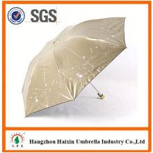 Nouvelle conception d'OEM d'arrivée carré plier parapluie à vendre