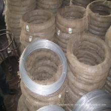 Alambre de unión de hierro galvanizado eléctrico