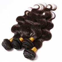 Venda quente 2015 novos produtos da onda do corpo 100% raw cabelo virgem peruano não transformados