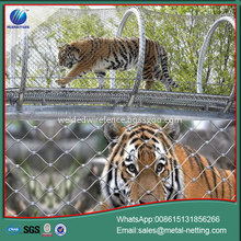 SUS rope zoo mesh tiger rope netting