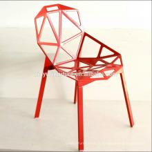 Chaise en plastique de loisirs chaise moderne sur saled XYN2786
