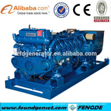 CE,CCS,BV approved 500kva Baudouin marine generators set for sale