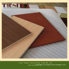 La mejor madera contrachapada de melamina blanco de alta calidad mejor