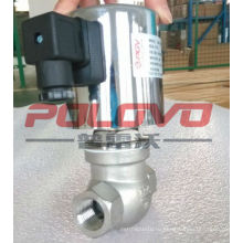 ZQDF-15б 1/2 дюйма из нержавеющей стали 220V пара электромагнитный клапан