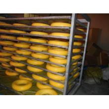 9 Jahre Fabrik irgendein Zoll PU-Schaum-flache freie Handlaufkatze PU-Rad 4.00-8