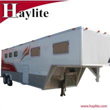 Gooseneck horse trailer used horse trailer with living quarters