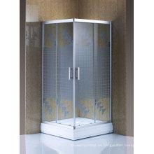 Puerta deslizante barata de la ducha de cristal de la pantalla de ducha de las mercancías sanitarias