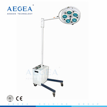 AG-LT010 Wholesale medical supplies battery standing operating room lights prices
