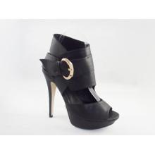 Novo estilo de moda mulheres botas sandálias (hyy03-159)