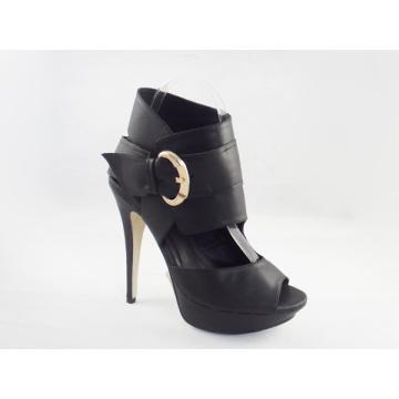 Neue Art der Mode Frauen Stiefel Sandalen (HCY03-159)