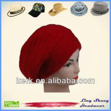 LSA18, 2014 moda en el sombrero de las señoras del pelo del conejo del invierno