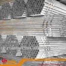 Fábrica de buena calidad din 2444 tubería de acero galvanizado
