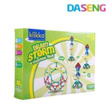 Развивающая игрушка дети пластиковая игрушка строительство klikko