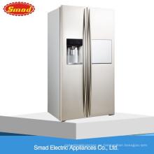 Refrigerador de la puerta francesa de 550L ninguna Frost de lado a lado con el fabricante de hielo automático