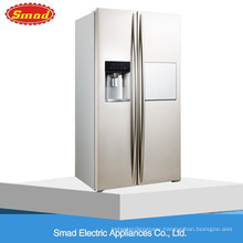 550L No Frost French door Side By Side Refrigerator With Automatic Ice Maker