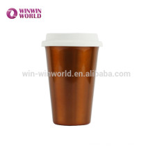 Hot Selling Fashionable Portable Coffee Stainless Steel Travel Mug With Silicone