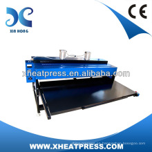 2017 máquina hidráulica de la prensa del calor del paño al por mayor, máquina de la impresión de la camiseta de Digitaces