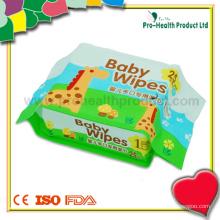 Werbeartikel Kunststoff Baby Wischen Container