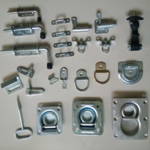 Heavy Duty Spring Loaded Bolt Latch and Lock