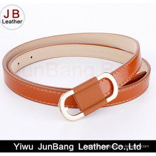 Ceinture en cuir PU Fashion Lady