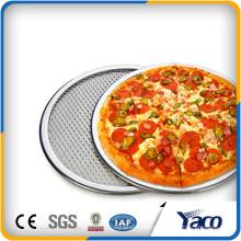 Pantalla de pizza de acero inoxidable, disco de malla expandida de aluminio