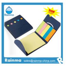 Mini-bloco de papel com cores miniatura