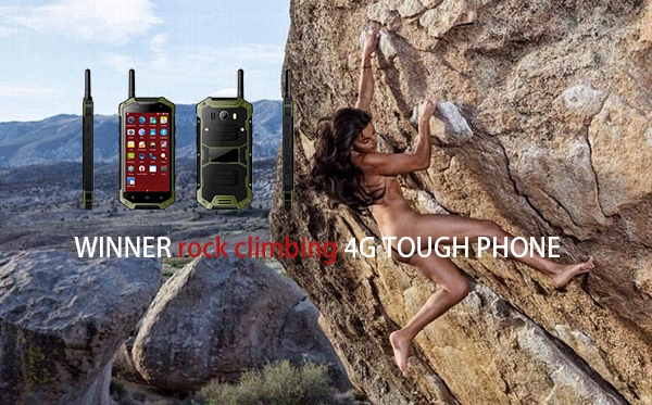 Rock climbing 4G TOUGH PHONE