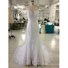 Aoliweiya Luxury Feature 2017 Bridal Gown Wedding Dresses