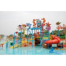 Ocean World Adults Aqua Playground Equipment with Inflatabl