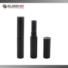 metal black lipstick tube