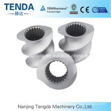 Stainless Steel Conical Twin Screw and Barrel