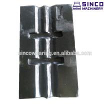 European Blow bar Cr26 Mn13Cr2 Mn18Cr2 - Impact crusher spare parts
