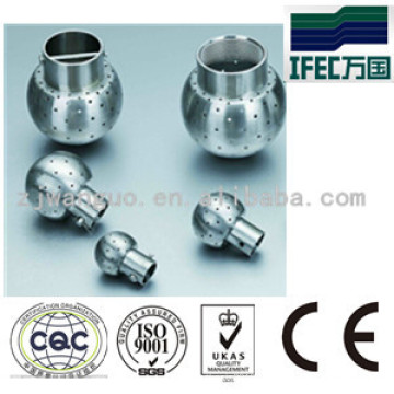 Balle de nettoyage fixe sanitaire en acier inoxydable (IFEC-CB100001)