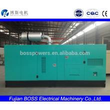 Бесшумная дизель-генераторная установка мощностью 250 кВт с двигателем Cummins 400V 50HZ