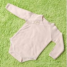 Ropa de bebé rayada del bebé del mameluco del algodón orgánico