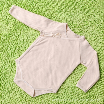 Organic Cotton Striped Baby Romper Infant Apparel