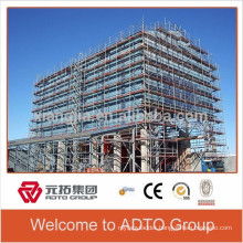 building facade cuplock standard ledger scaffolding system