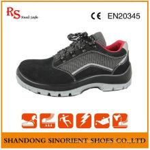 Sapatos de segurança para senhoras com dentes de aço elegante RS002
