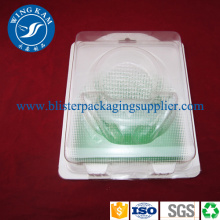 Clear Round Plastic Plastic Blister Packaging OEM