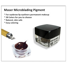 High Quality Eyebrow Permanent Makeup Pigment Ink For Microblading.