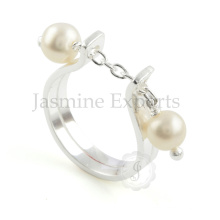 Handmade Fresh Water Pearl Ring 925 Silver Ring For Wholesale Jewelry