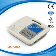 MSLVE03W Light weight three channel portable veterinary ecg electrode machine(use in various animal and dogs)