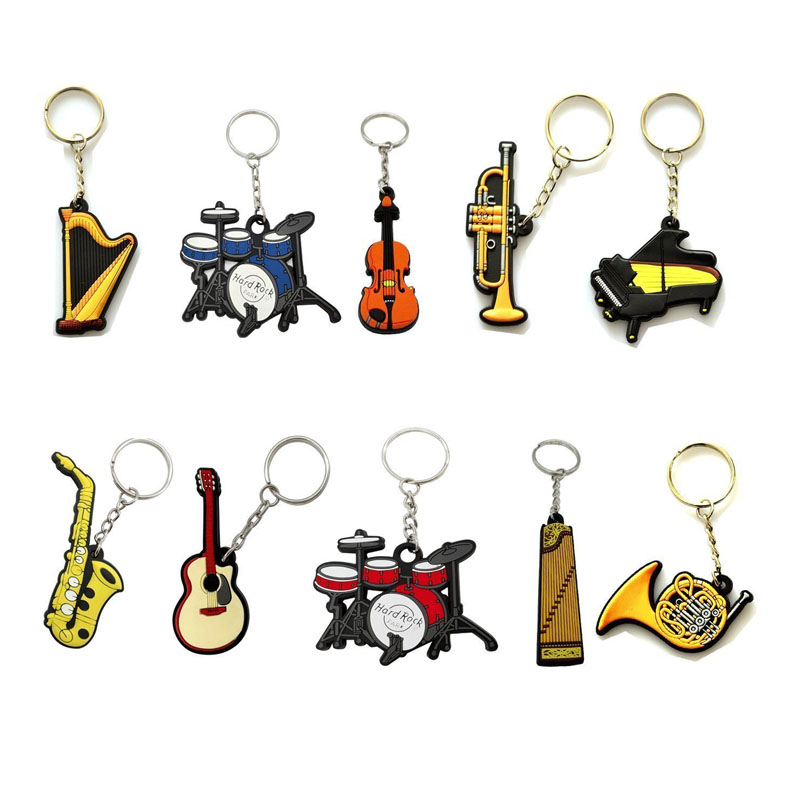 Musical Instrument Keychain